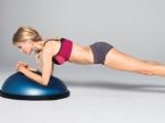 Bosu Forearm Front Plank