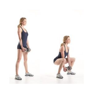 Bodyweight squat 2