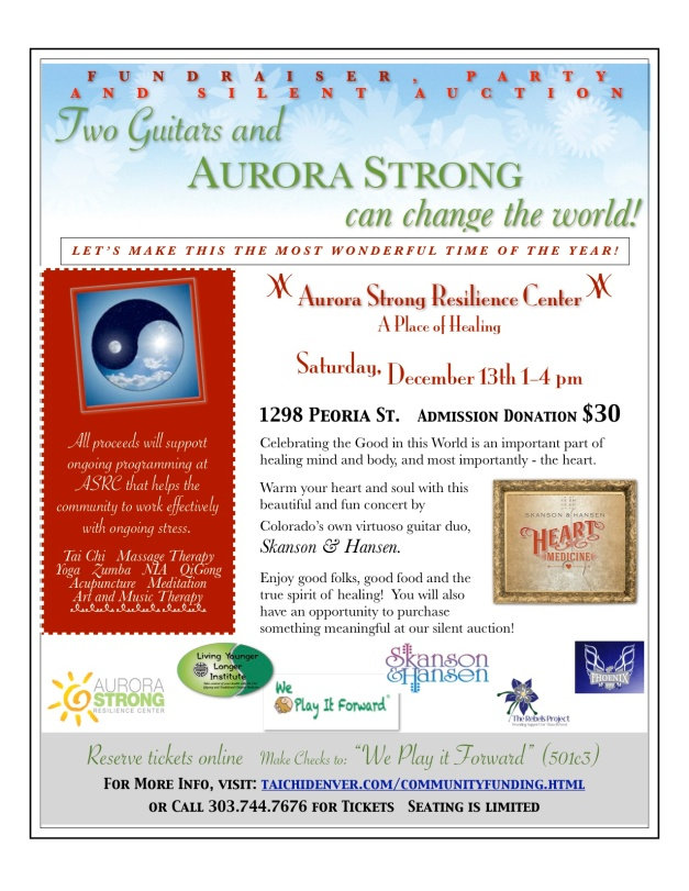 Two Guitars Make Aurora Strong FLYER